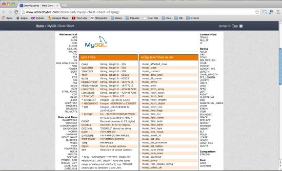 mysql-cheat-sheet