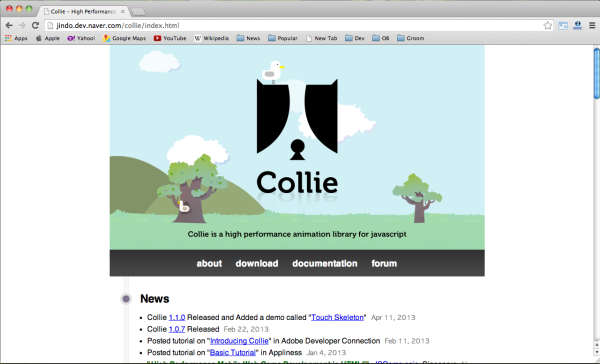 Best HTML5 and javascript game engine Library - collie