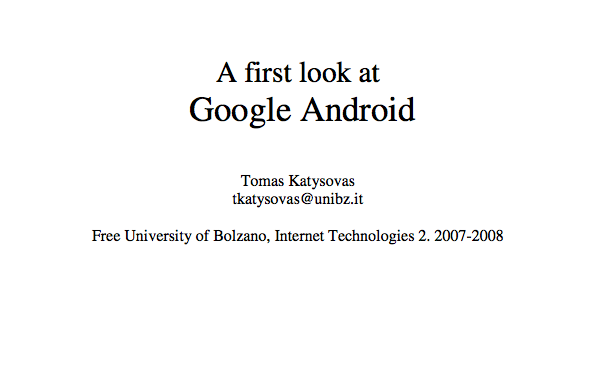 Best free android programming book - google-android