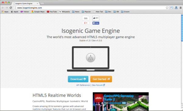 Best HTML5 and javascript game engine Library - isogenic-game-engine
