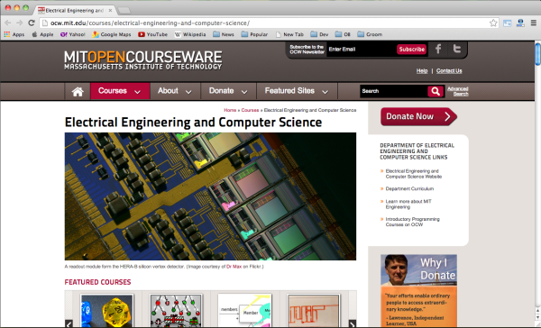 best resources to learn code online - mitopencourseware