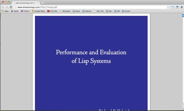 performance-lisp
