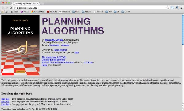 planing-algorithm