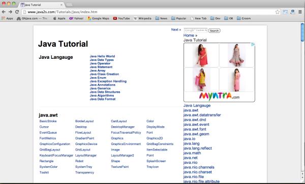 Best websites for Java developers - java2s