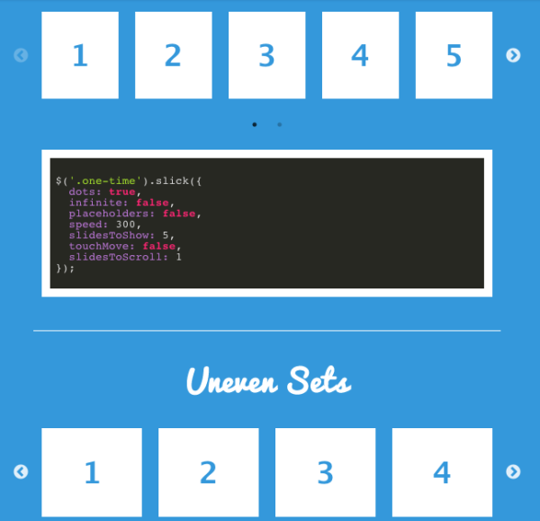 Best free jQuery Plugins of march 2014 - slick
