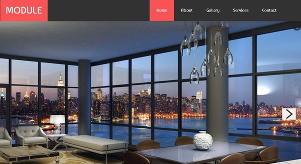 Best Free HTML5 and CSS3 websites templates 2014-interior-module