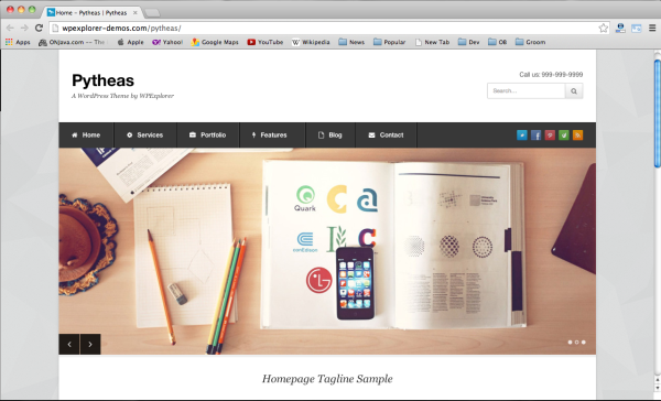 Best free wordpress themes 2014-pytheas