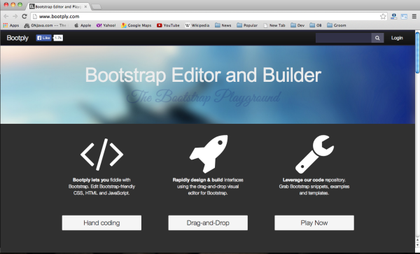 Best bootstrap tools for web designers-bootply