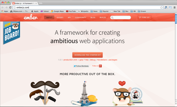 best javascript resources for designers and developers emberjs