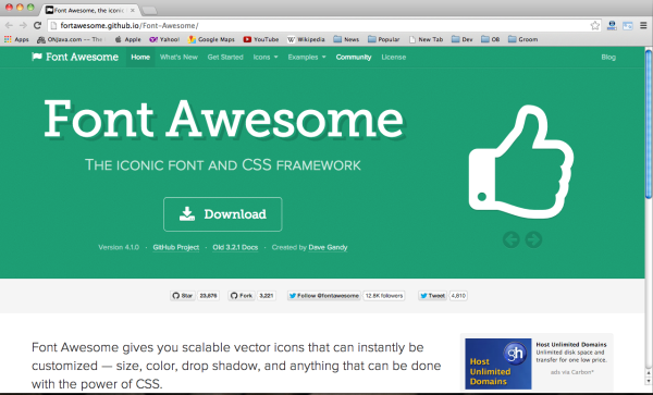 Best bootstrap tools for web designers-font-bootstrap