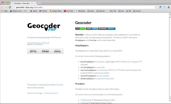 geocodeer