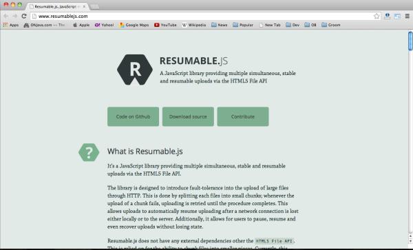 best javascript resources for designers and developers resumblejs