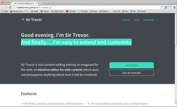 best javascript resources for designers and developers sir-trivor