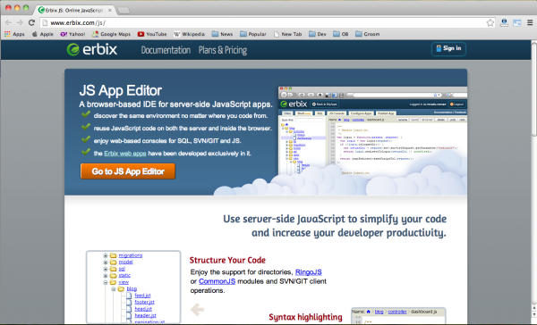 Best cloud IDEs for web programmers 2014 - erbix