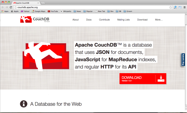 Fresh tools for web developers and designers of october 2014 - couchDB