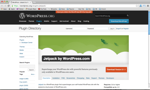 best wordpress plugins for web developers  jetpack