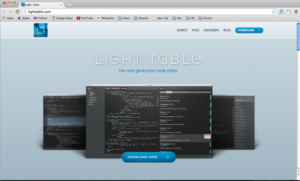 best free tools for programmers  - lighttable