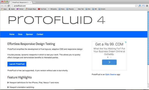 best web design testing tools 2014- protofluid