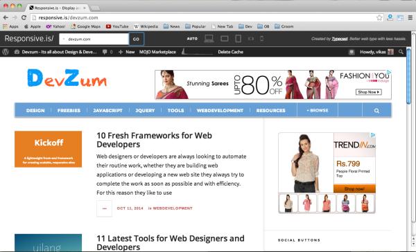 best web design testing tools 2014 - responsiveis