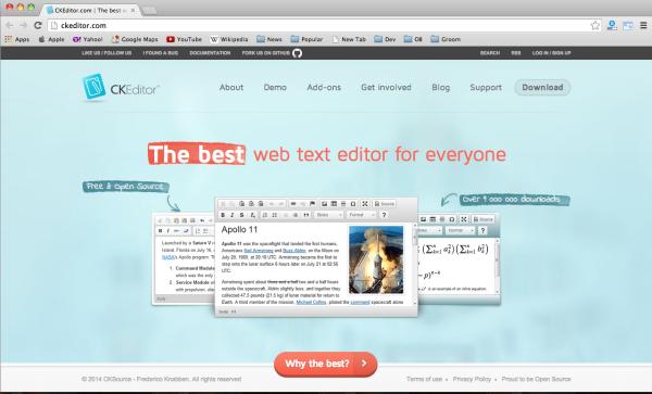 Top 10 Best free Rich Text Editors | DevZum