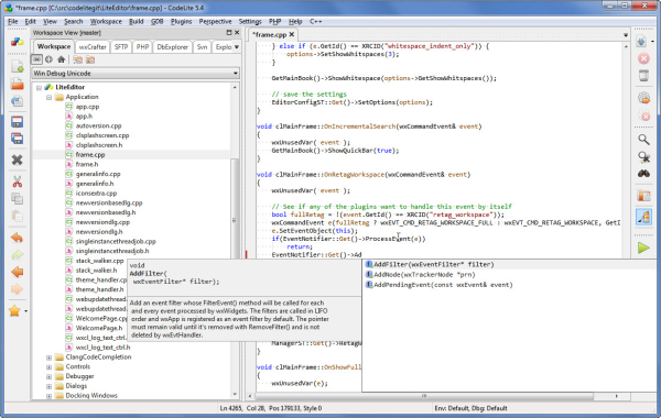 top most useful compilers and IDEs for C/C++ programmers - codelite