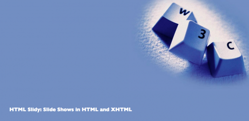 top best html5 and javascript presentation framework - html-slidy