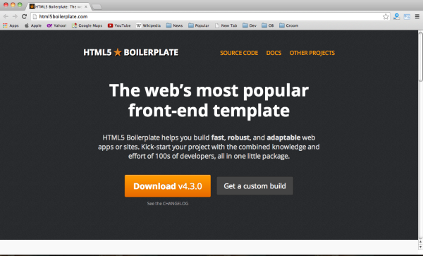 best CSS & HTML frameworks for designers and developers - html5 framework