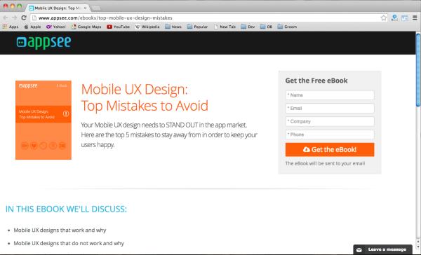 mobileUX-design