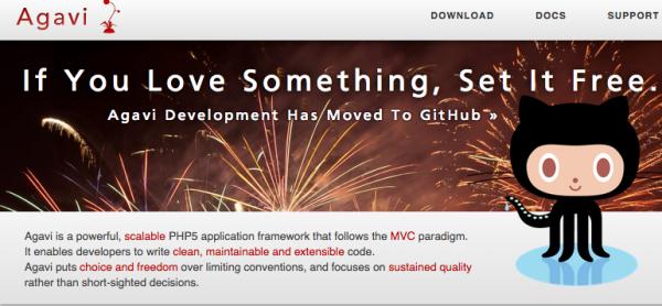best PHP frameworks for 2015 - agavi