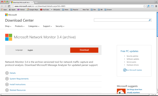 microsoft network monitoring