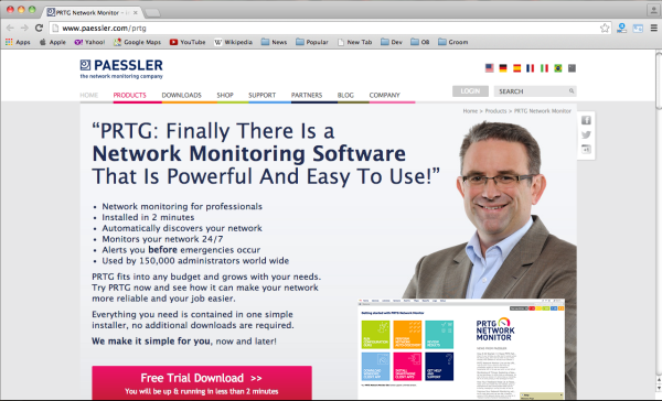 best free networking tools for system administrator in 2015  - paessler