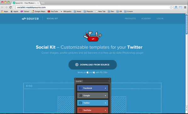 Best free photoshop plugins for designers 2015 - socialkit