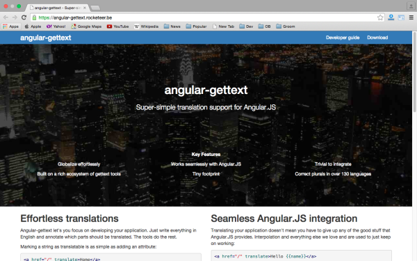 best angularJS tools for web developers for 2015 - angular-gettext
