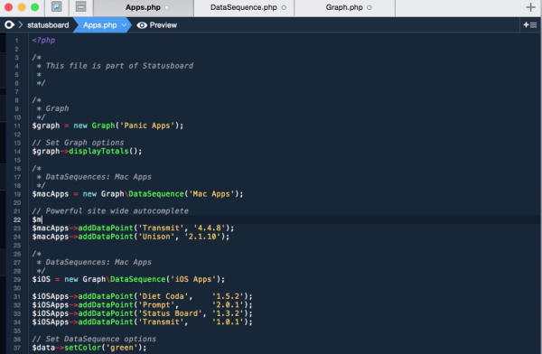 best free IDEs and Editors for programmers and designers coda
