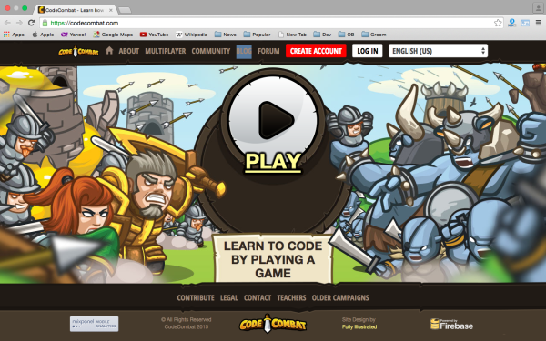 best online resources to learn about game development - codecombat
