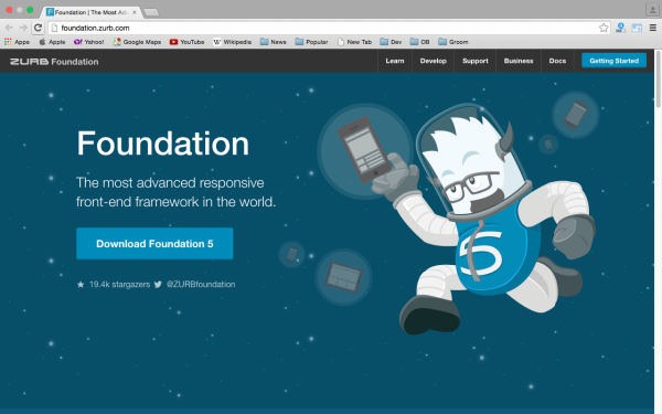 best free WordPress Theme Frameworks for 2015 - foundation