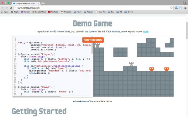 best HTML5 and javascript game engine libraries  - html5-game-engine