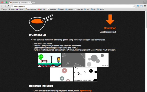 best HTML5 and javascript game engine libraries  jsgameoup
