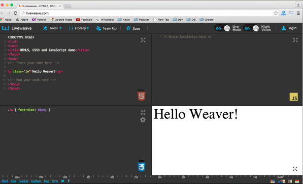 best free IDEs and Editors for programmers and designers -liveweave