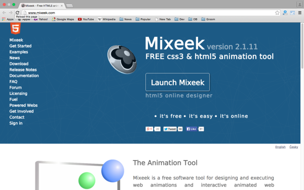 best HTML5 Animation Tools for designers  - mixeek