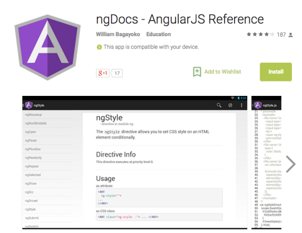 best angularJS tools for web developers for 2015 - ng-docs