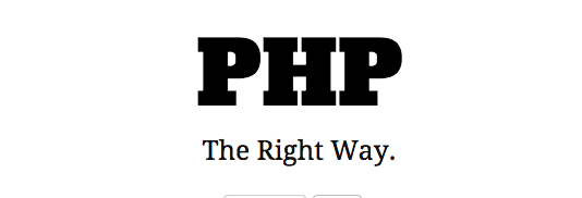 Best free programming books - phptherightway