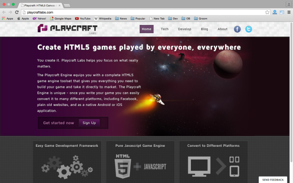 best HTML5 and javascript game engine libraries  - playcraftlabs