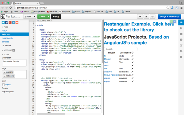 best angularJS tools for web developers for 2015  - restangular