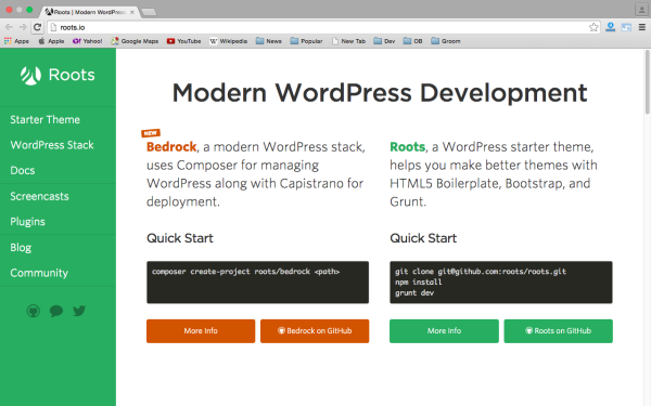 best free WordPress Theme Frameworks for 2015 roots