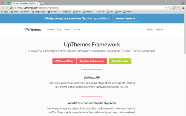 best free WordPress Theme Frameworks for 2015 upthemes