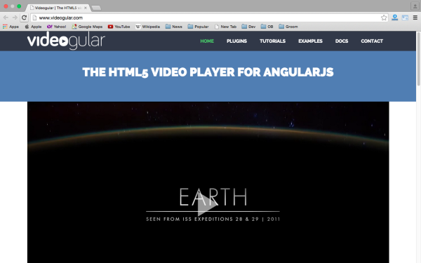 best angularJS tools for web developers for 2015 - videogular