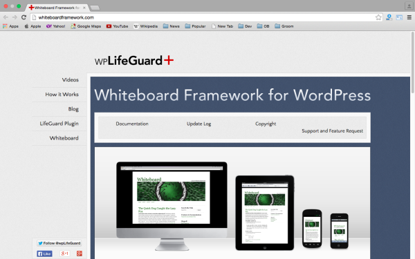best free WordPress Theme Frameworks for 2015 - whiteboardframework