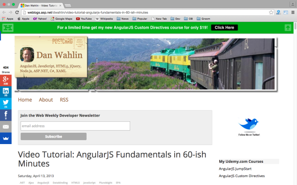 best resources and tutorials to learn AngularJS - angularjs-fundamentels