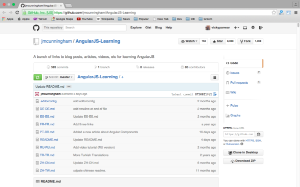 best resources and tutorials to learn AngularJS - angularjs-learning